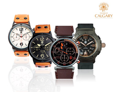 Relógio Calgary® | Escolha o Modelo
