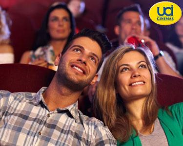 Uma ida ao cinema calha sempre bem » Bilhete para Cinemas UCI por 4,90€