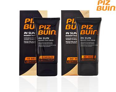 Piz Buin In Sun Radiant Creme de rosto | Escolha a sua opção
