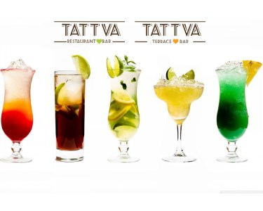 Sunset Cocktails no Tattva Terrace & Bar para Dois | Momento Único!
