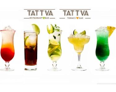 Sunset Cocktails no Tattva Terrace & Bar para Dois | Momento Único!