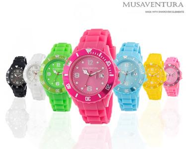 Relógio Silkon com Cristais Swarovski Elements® | Cores à Escolha