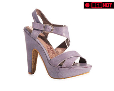 Sandálias Senhora Salto Alto   Cor Azul