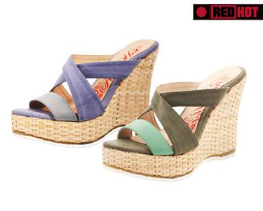 Sandálias Senhora Salto Alto | Verde ou Azul