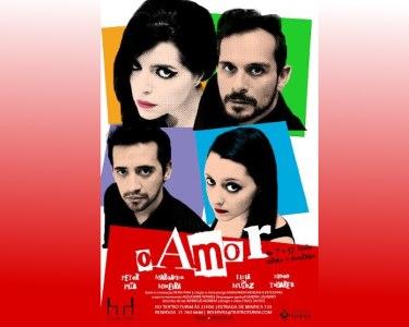 Bilhete para «O Amor» | 1 ou 2 Pessoas | Teatro Turim