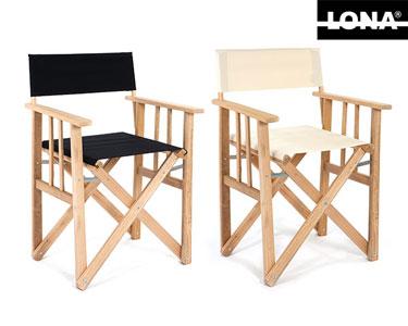 Cadeira Realizador Lisa Lona® | Cores à Escolha!