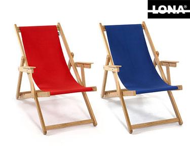 Cadeira de Praia Lisa Lona® | Escolha a Cor!