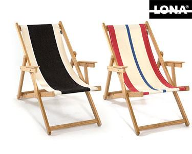Cadeira de Praia Riscas Lona® | Cores à Escolha!
