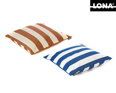 Almofada Lona® 100% Algodão | Listas Largas