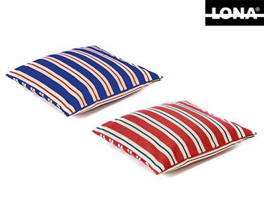 Almofada Lona® 100% Algodão | Tricolor