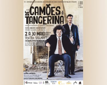 «De Camões à Tangerina» | Espectáculo Cómico - Teatro Villaret