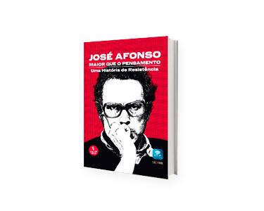 Livro e DVD «Maior que o Pensamento Uma História de Resistência», de José Afonso - Vol 1