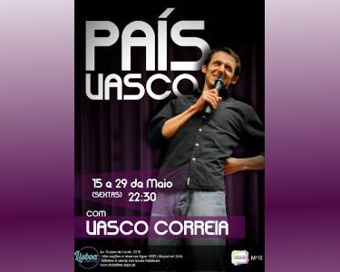 «País Vasco» com Vasco Correia | Lisboa Comedy Club