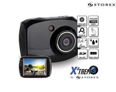 Câmara Xtrem | Full HD + Extras