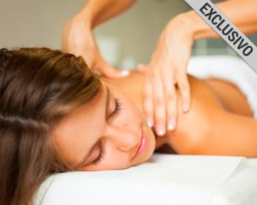 Massagem Relax Deluxe - 50 Minutos   3 Clínicas Skinvital by Sorria