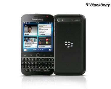 BlackBerry® Classic QWERTY | Preto