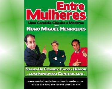 O Teatro Vai a Casa! «Entre Mulheres» de Nuno Miguel Henriques