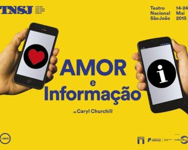 «Amor e Informação» | Espectáculo no Teatro Nacional São João