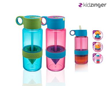 KidZinger | Garrafa Prática & Saudável para os seus Filhos!