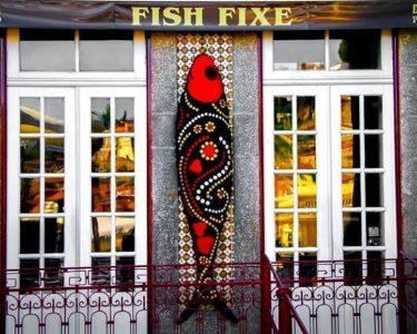 Fish Fixe | Jantar Romance c/ Vista Douro & Garrafa de Vinho para Dois