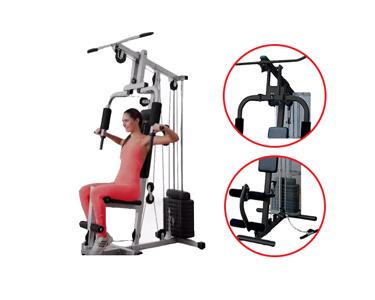 Máquina de Musculação Multifunções | Tonifique o seu Corpo!