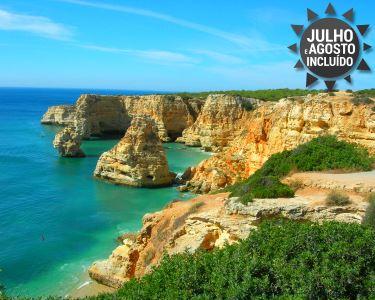 3, 5 e 7 noites de Verão em Meia Pensão | Hotel Baía de Monte Gordo