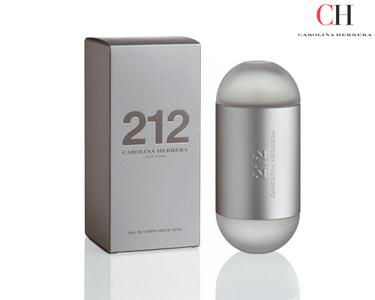 Perfume Carolina Herrera® 212 | EDT 30 ml, 60ml ou 100ml