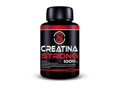 Creatina Strong 120 Cápsulas| Aumente o Desempenho Físico!