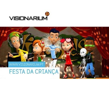Festa da Criança no Visionarium - Diversão para Todos | 30 de Maio