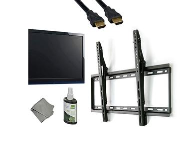 Kit Suporte TV + Cabo HDMI + Conjunto de Limpeza   Escolha o Seu!