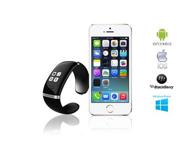 Controla o teu Smartphone no teu pulso :: Smartwatch compatível com Apple e Android