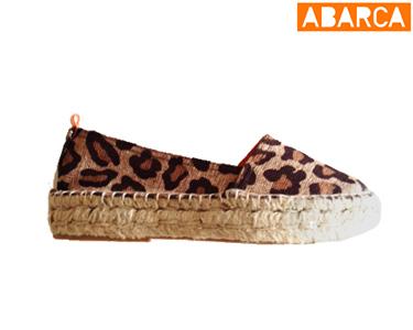 Alpargatas  Abarca | Camping Leopardo