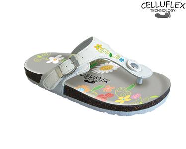 Sandálias Celluflex | Melhore a sua Silhueta | Eole - Flores