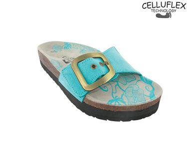 Sandálias Celluflex | Melhore a sua Silhueta | Atlas - Azul