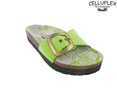 Sandálias Celluflex | Melhore a sua Silhueta |  Atlas - Verde