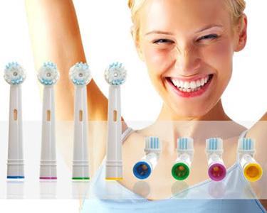 Recargas Compatíveis com Escova de Dentes Oral B | 4 unidades