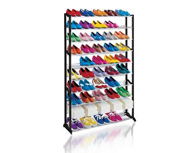 Organizador de Sapatos 50 Pares | Pr��tico e Portátil