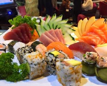 Sushi Lunch! Combinado 36 Peças & Flutes de Sangria a Dois | Estoril