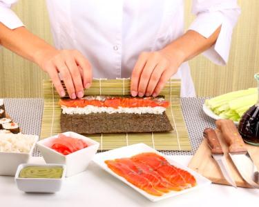 Do Sushi ao Pato à Pequim! Curso de Cozinha Oriental | 4h - Gaia
