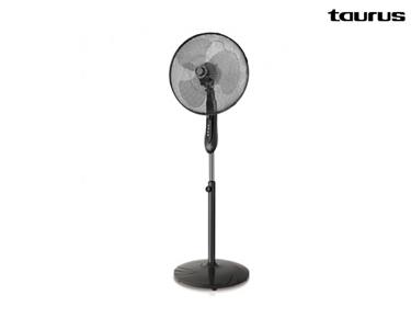 Está Calor? Ventilador Taurus®, Design Elegante, Silencioso, Regulável e com Cronómetro