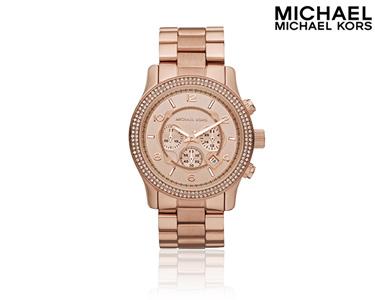 Relógio Mickael Kors® | Rosa Ouro