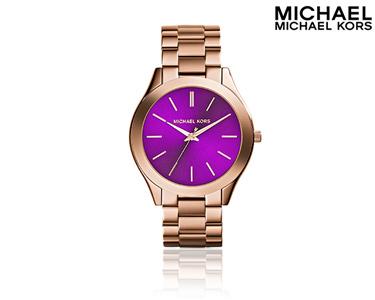 Relógio Mickael Kors® | Slim Roxo
