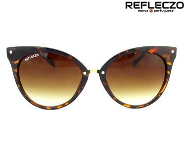 Óculos de Sol Refleczo® CatClassy   Havana