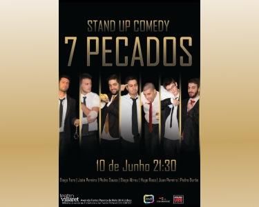 7 Comediantes, «7 Pecados» | 10 de Junho | Teatro Villaret