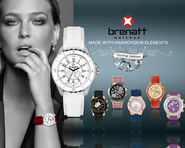 Relógio Brenatt Made With Swarovski® Elements | Escolha o Seu