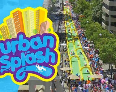 Urban Splash | O Escorrega Mais Louco de Portugal | 20 e 21 de Junho