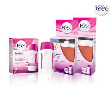 Kit Veet® Easy Wax | Roll-On Elétrico + 2 Recargas