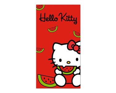 Toalha de Praia Melancia   Hello Kitty