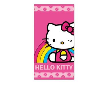 Toalha de Praia  Arco-íris | Hello Kitty