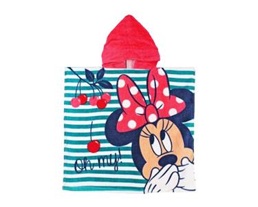 Poncho Infantil 60x120 cm | Minnie